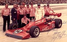70's Indy Car Designs