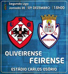 CLUBE DESPORTIVO FEIRENSE: Oliveirense vs Feirense | Antevisão