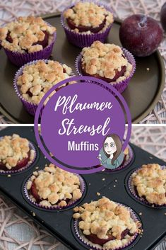de - Simply bake muffins with plum cinnamon and sprinkles. Vegetarian cupcakes Simply bake muffins with - German Chocolate Cheesecake, Best Chocolate Cupcakes, Dessert Simple, Baking Muffins, Baking Cupcakes, Cinnamon Cupcakes, Mini Muffins, Torte Au Chocolat, Cupcakes Amor