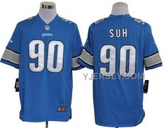 http://www.yjersey.com/nike-lions-90-suh-blue-game-jerseys-new-arrival.html NIKE LIONS 90 SUH BLUE GAME JERSEYS NEW ARRIVAL Only 36.00€ , Free Shipping!