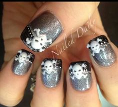 OK MALLORY THESE R THE NAIL DESIGNS I WANT!