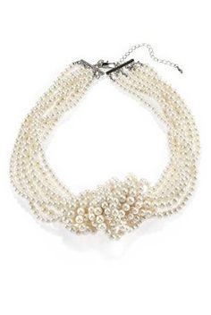 Faux Pearl Multi-Strand Necklace - Marks & Spencer