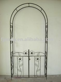 Metal arc publică; deformabile arc de fier, produse floare arc, cumpărare Metal ... - poze Arcade de grădină din metal