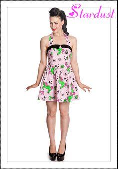 I Heart Zombie Dress Pnk ~hell bunny~