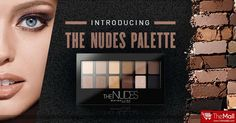 DARE TO GO NUDE !!! Introducing THE NUDES Eyeshadow Palette from MAYBELLINE!  - 12 curated shades from natural to smokey, shimmer to matte - Positioned to perfectly complement each other in Duos, Trio, Quads - Create infinite nude looks with just 1 easy to use palette  Buy Authentic products from - www.TheMallBD.com To Order Now, Call 01977300901, 01977300902