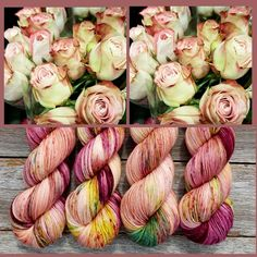 Let's start our week with some beautiful [BELLA] I saw these stunning roses on the weekend and they just reminded me of this colourway --…