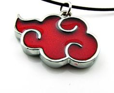 Naruto Red Cloud Necklace