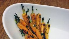 Recipe: Roasted carrots with parsley butter