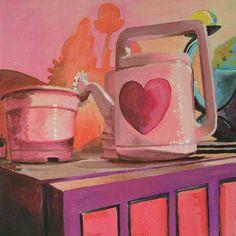 acrilico su tavola, 50x50, 2002