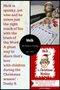 30 Christmas #Bible lessons and fun activities for the whole family! #Melk #ChristmasActivities for #children #advent