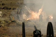 Into the West (TV HBO mini-series 2005) Scene from Wounded Knee Masacre