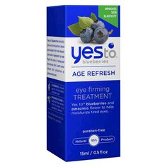 #Breast #Feeding #Yes_To #shopping #sofiprice Yes to Blueberries Eye Firming Treatment - 1 ct. - https://sofiprice.com/product/yes-to-blueberries-eye-firming-treatment-1-ct-69451209.html
