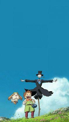 Howl's Moving Castle, Howls Moving Castle Wallpaper, Art Studio Ghibli, Studio Ghibli Movies, Animes Wallpapers, Cute Wallpapers, Arte Sharpie, Personajes Studio Ghibli, Studio Ghibli Background