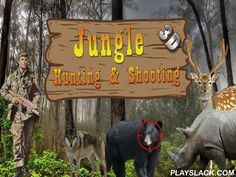 Jungle: Hunting And Shooting 3D  Android Game - playslack.com , Pre-Raphaelite non-identical critters that live in chaotic jungle. Be mindful and don't become a commune of hazardous hunters. finish different quests on intriguing levels of this Android game. To beat each stage you need to kill a definite amount of critters and finish the goal. Pre-Raphaelite bears, wolves, cheetahs, and so on. Shoot deep game with a shooter firearm and don't forget to reload it. Remember that disturbance…