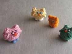I suddenly feel like tiny crocheted owls are something we need in our lives.