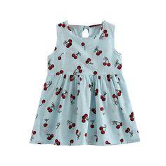 2017 Summer Grils' Princess Dress Toddler Girls Princess Dress Kids Baby Gril Fashion Cute Party Wedding Sleeveless Dresses P2 #Affiliate