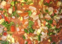 Mexican Style Shrimp Ceviche Recipe -  Yummy this dish is very delicous. Let's make Mexican Style Shrimp Ceviche in your home!