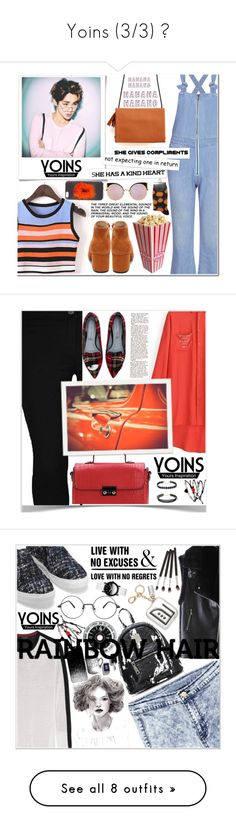 """Yoins (3/3) ♥"" by av-anul ❤ liked on Polyvore featuring Lauren Ralph Lauren, Fendi, Dorothy Perkins, Chiara Ferragni, Anya Hindmarch, rag & bone, Casetify, JINsoon, WALL and DKNY"