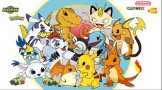 Digimon vs. Pokemon who can forget? The theme songs was sooo catchy!