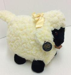 "Atlanta Novelty Gerber Precious Plush Sheep Wooly Lamb Bell Stuffed 11"" #Atlantanovelty"