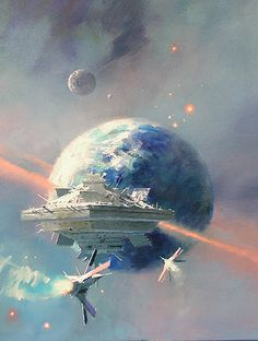 The Ghost Brigades (A Sci Fi Essential Book) by John Scalzi 0765315025 9780765315021 Arte Sci Fi, Sci Fi Art, John John, Star Trek, John Berkey, Sci Fi Ships, Isaac Asimov, Science Fiction Books, Artists
