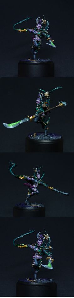 40k - Dark Eldar Succubus by MaGie