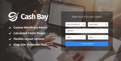Cash Bay - Loan & Credit Money #WP #Theme - Business #Corporate