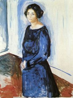 Edvard Munch (1863-1944). It's About Time: The Blue of the Sky