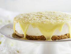 עוגת גבינה ושוקולד לבן ללא אפייה (קירור של לילה)