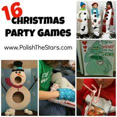 Polish The Stars: 16 Christmas Party Games