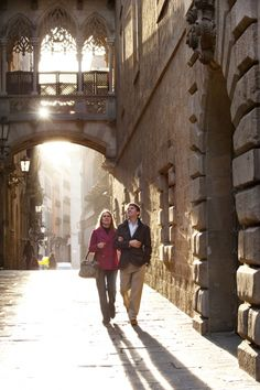 ✕ Love in the afternoon / Barcelona, medieval district