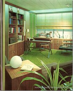 1000 images about vintage decorating on pinterest 1970s for 70s office design