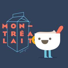 Illustrator Juan Casal / Animated GIF for Milk Bar Toronto - Anna Goodson Illustration Agency Photoshop 8, Creative Industries, Motion Design, Pansies, Animated Gif, Overlays, Illustrators, Milk, Artsy