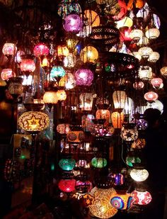 Lanterns,lights,candles.........