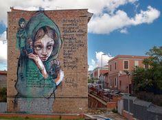 by Herakut in Rome, 10/15 (LP)