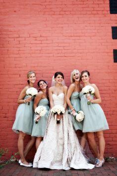 Mint Green Bridesmaids Dresses?