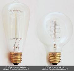 Pendelleuchten-Gruppe aus fünf einfachen Fassungs-Lampen *
