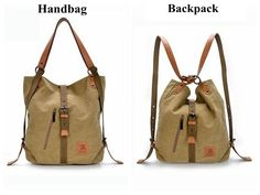 Women Canvas Casual Multifunctional Microfiber Leather Large Capacity  Handbag Shoulder Bags Backpack shows femininity. Shop on NewChic and buy  yourself the ... aa1aab9f73f53