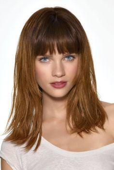 medium school hairstyles 2013 for girls hairstyle for womens Mid Hairstyles 2013 Long Hair With Bangs And Layers, Haircuts For Long Hair With Bangs, Shoulder Length Hair With Bangs, Mid Length Hair, Medium Hair Styles For Women, Medium Hair Cuts, Short Hair Styles, Mid Hairstyles, Layered Hairstyles