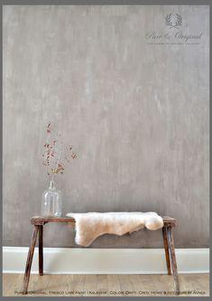 Verf Pure & Original | fresco kalkverf in kleur Drift