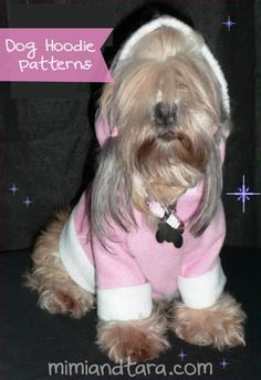 This is a free sewing pattern for a homemade casual Hoodie for dogs. download the hood and the sweater pattern in pdf