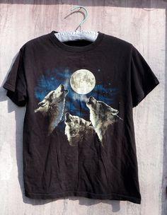 Vintage Wolf T Shirt