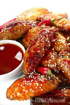 Detroit Hot Honey Chicken Wings