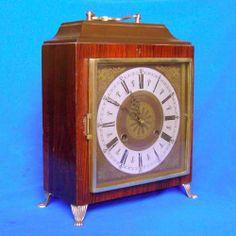 Relógio Antigo De Mesa Alemão Kienzle