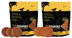 Vital Essentials raw for dogs and cats. 100% meat, organ, and bone with a guaranteed minimum in organ meat. Chicken With Liver for Cats shown at right.  Available at Joey's Pet Outfitters: Michigan's premier knowledge source for, and purveyor of, quality raw pet food and supplies.