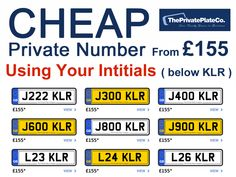 Why Cheap Private Plates Are More Popular Than Ever (Posts by theprivateplatecompany)