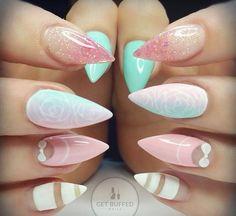 On instagram stiletto nails in love
