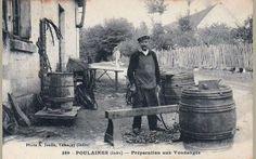 36 - Poulaines - Préparation aux Vendanges