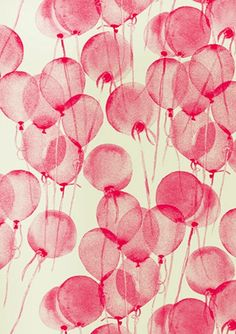 pink balloons // how fun!