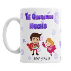 Taza Super Mamá - Si tienes una mamá super guay regálale esta taza en su día , cumpleaños, día de la mujer o cualquier ocasión especial